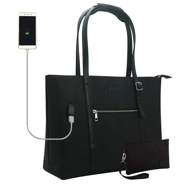 Waterproof Laptop Tote Bag by Chomeiu